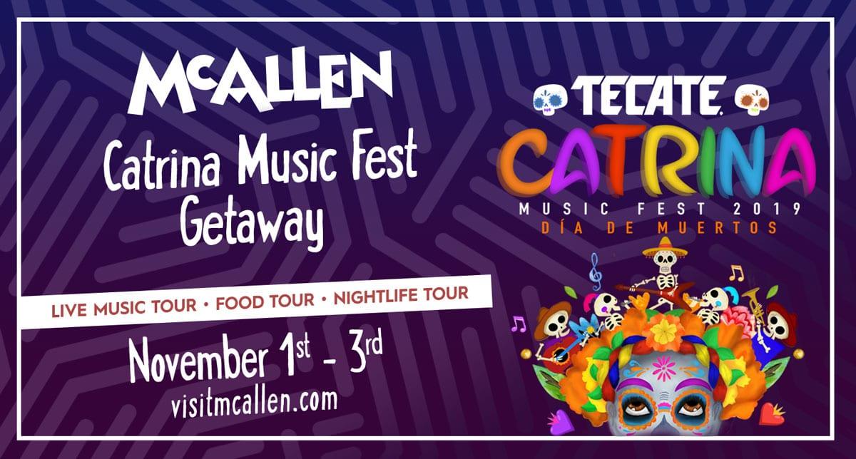 Catrina Music Fest Getaway